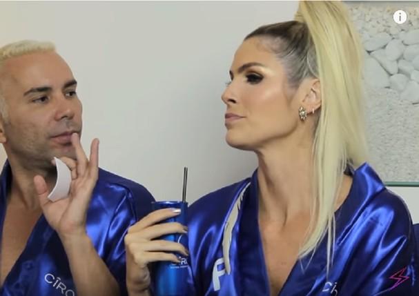 Matheus Mazzafera e Julia Faria (Foto: Reprodução/ Youtube)