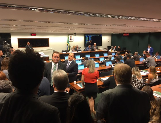 Conselho de Ética avalia processo cuspida de Jean Wyllys em Jair Bolsonaro  (Foto: Luís Lima )