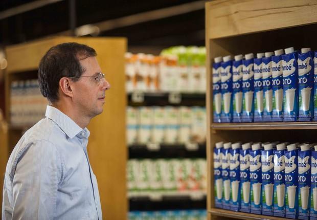Alexandre Almeida, presidente da Itambé (Foto: João Marcos Rosa/Nitro)