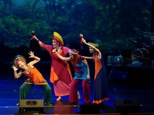 Espetáculo infantil traz para Campinas uma viagem pelo mundo  (Foto: Eduardo Vessoni )