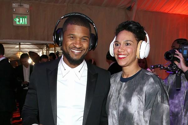 Usher e Grace Miguel (Foto: Getty Images)