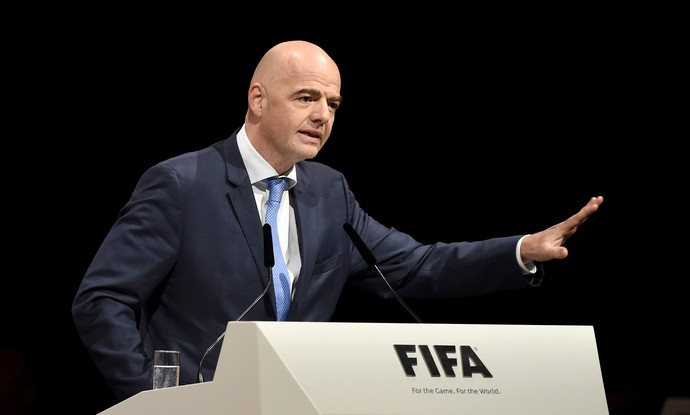 Gianni Infantino eleição Fifa (Foto: Getty Images)