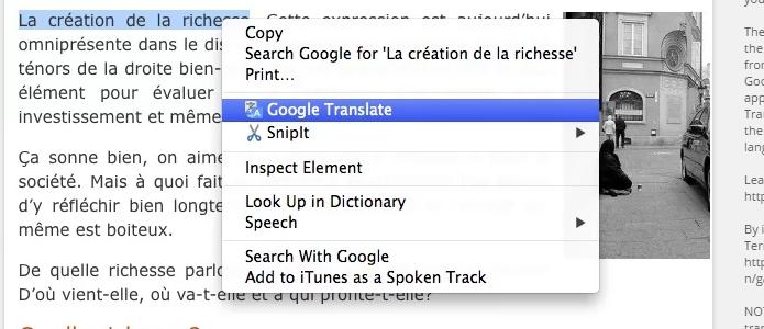 Ficou muito mais fácil traduzir trechos, palavras ou sites inteiros com a nova extensão do Google Tradutor (Foto:Reprodução/Google)