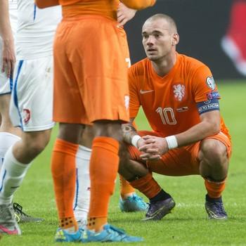 Sneijder Holanda (Foto: Reuters)