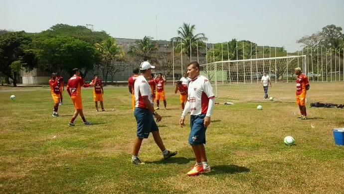 Fortaleza, treino, Macaé (Foto: Thaís Jorge)