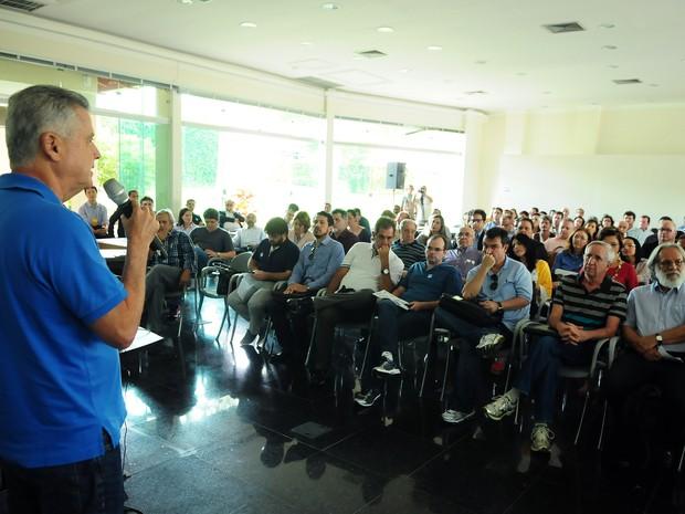 Governador do DF, Rodrigo Rollemberg, reúne secretariado para traçar Plano Plurianual 2016-2019 (Foto: Pedro Ventura/GDF/Divulgação)