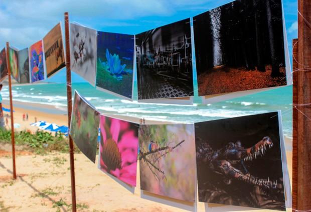 Exposição reúne imagens de 15 fotógrafos considerados revelações internacionais na área da fotografia digital (Foto: Mário Jr)