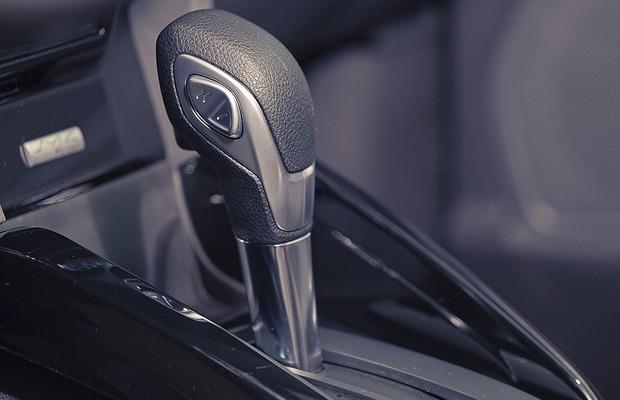 Câmbio Powershift do Ford Ecosport (Foto: Bruno Guerreiro)
