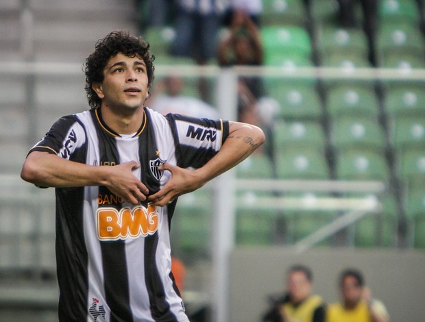 Luan atacante do Atlético-MG (Foto: Bruno Cantini / Flickr do Atlético-MG)