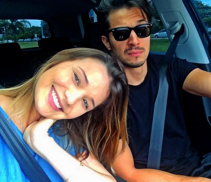 Romulo Estrela com a esposa Nilma Quariguasi (Foto: Arquivo pessoal)