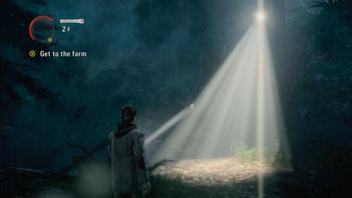 Caminhar em direção à luz pode salvar a sua vida no jogo (Foto: Reprodução)