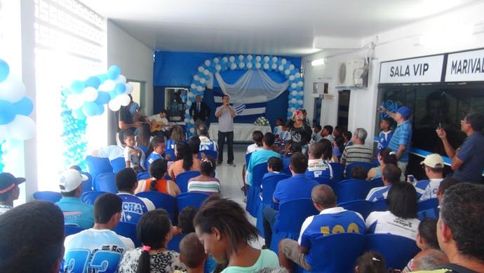 Aniversário CSA (Foto: Augusto Oliveira/GloboEsporte.com)