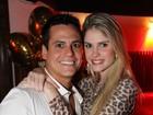 Bárbara Evans curte noite com namorado em Búzios