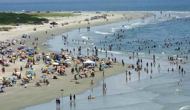 Paraná TV praia (Foto: Divulgação/ Prefeitura Pontal do Paraná)