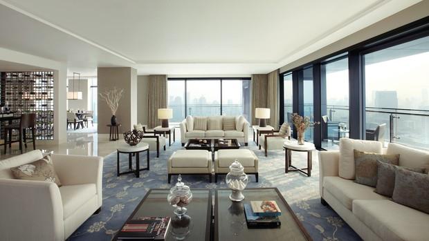 Hotel em que Marina Ruy Barbosa se hospedou com o namorado, The St Regis Bangkok (Foto: Reprodução/ Site Oficial)