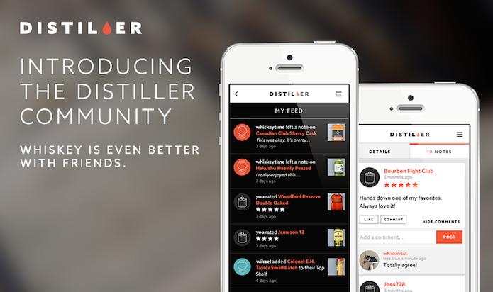 Distiler: de app de recomendações a rede social de fãs de whisky (Foto: Divulgação)