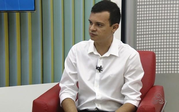 Fábio Martinez explicou como o estado chegou a esse resultado (Foto: Bom Dia Amazônia)
