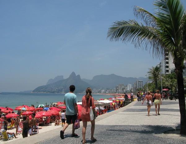 Já no domingo (25), frente fria chega ao Rio (Foto: Carolina Lauriano/G1)