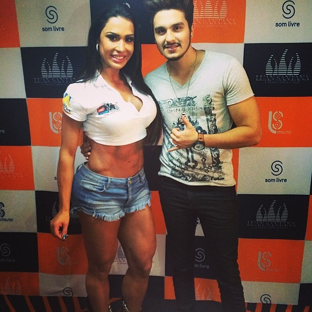 Gracyanne BArbosa e Luan Santana (Foto: Reprodução/Instagram)