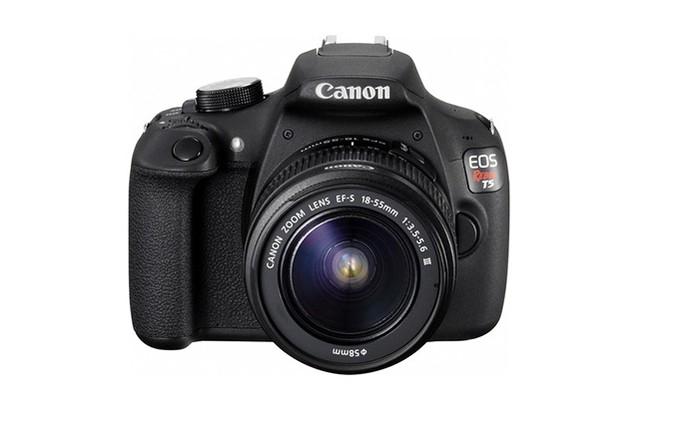 Canon EOS REBEL T5 grava em Full HD e tem preço mais barato da lista (Foto: Divulgação/Canon)