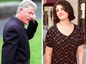Bill Clinton se envolveu em um escândalo sexual com Monica Lewinsky (Foto: AFP)