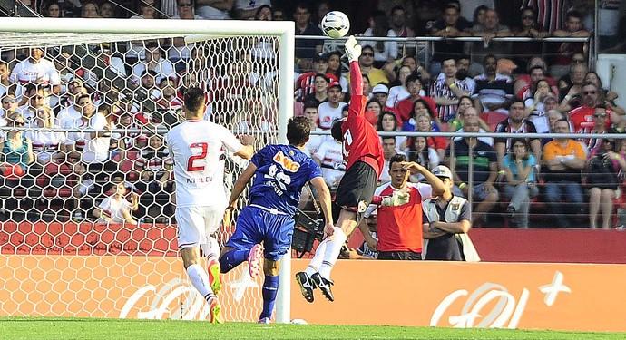 Rogério Ceni São Paulo x Cruzeiro (Foto: Marcos Ribolli)