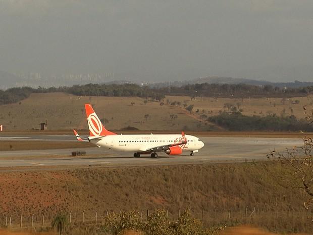 De acordo com a Infraero, pousos e decolagens não foram afetados (Foto: Reprodução/TV Globo)