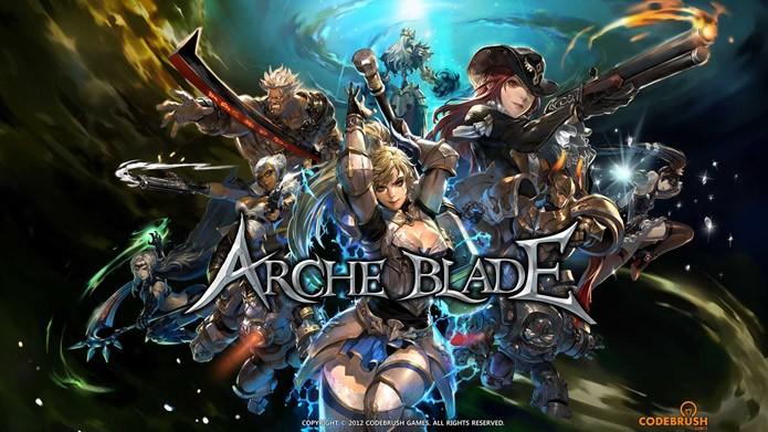 ArcheBlade possui 14 personagens e cenários inspirados em um manga coreano de mesmo nome (Foto: Divulgação/CodeBrush Games)