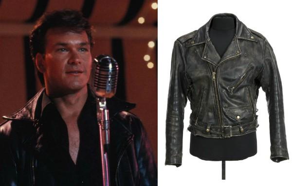 O casaco de Patrick Swayze em 'Diry Dancing' será leiloado (Foto: Reprodução/Divulgação)