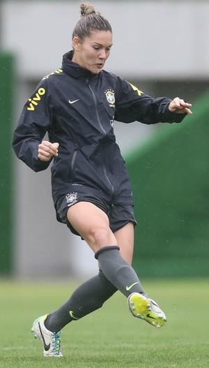 Gabriela Zanotti, meia-atacante da seleção brasileira feminina (Foto: Rafael Ribeiro/CBF)