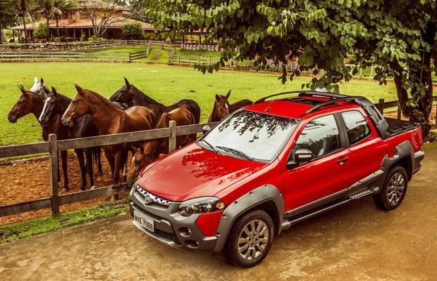 Fiat lança edição especial Mangalarga Marchador para Strada Trekking e Adventure  (Foto: Divulgação)
