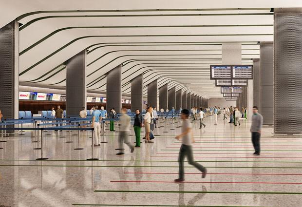 Projeto Aeroporto de Brasília (Foto: Divulgação)