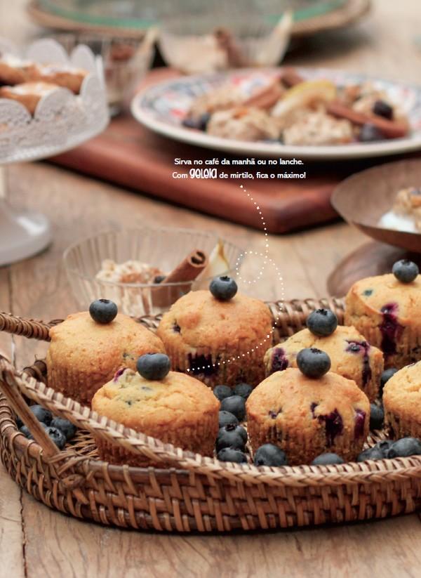 Muffin de mirtilo (Foto: Isadora Mira)