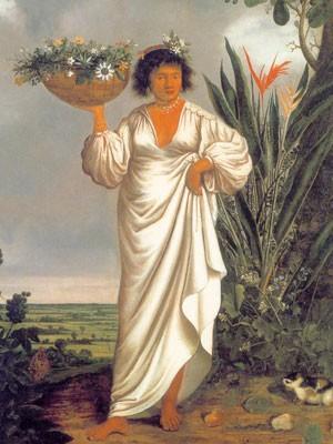 Pintores como Eckhout vieram a Pernambuco para pintar os nativos (Foto: Acervo Instituto Ricardo Brennand)
