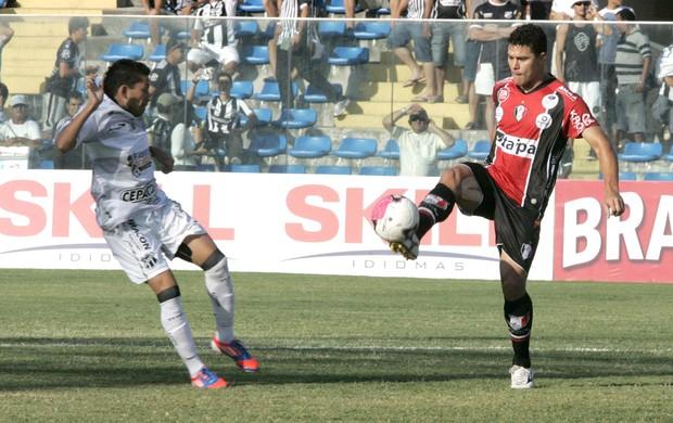 Eusebio e Mauricio, Joinville e Ceara (Foto: Lc Moreira / Futura Press)