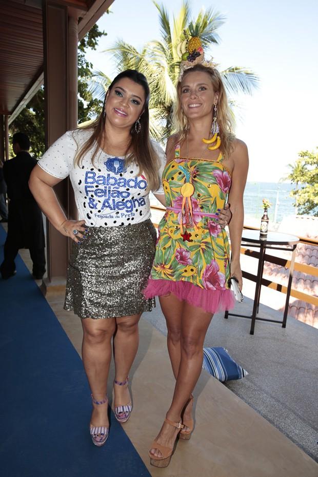 Preta Gil e Carolina Dieckmann (Foto: Felipe Panfili/Divulgação)