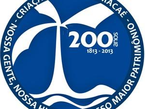 Selo Macaé 200 anos (Foto: Divulgação/Secom Macaé)