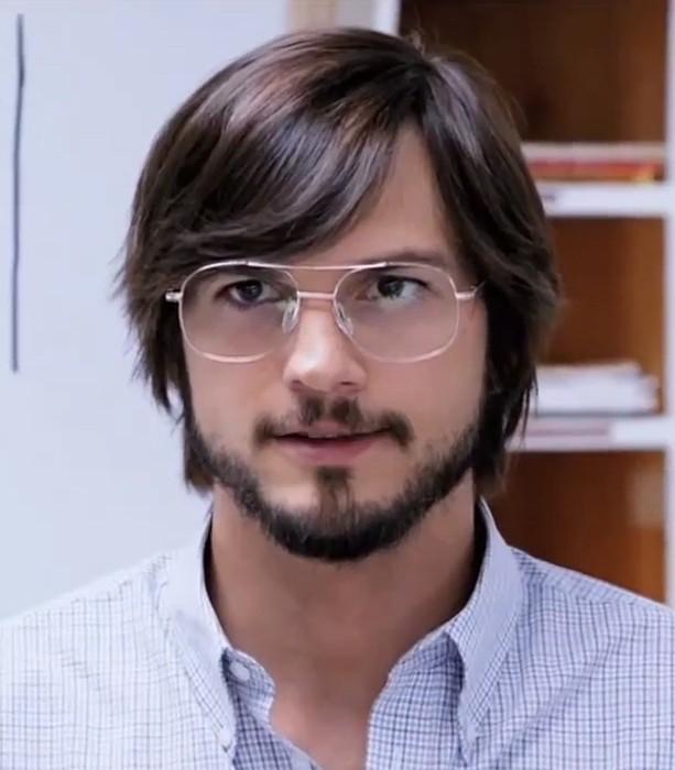 Ashton Kutcher em cena de 'Jobs' (2013). (Foto: Reprodução)
