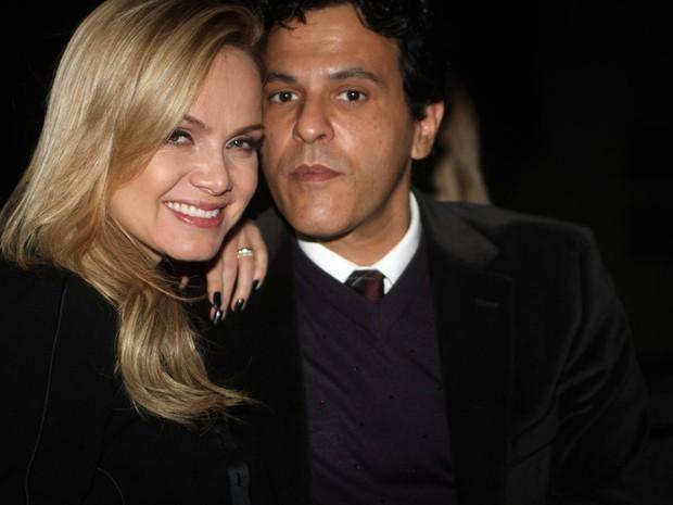 Eliana com o marido, João Marcelo Bôscoli (Foto: Taiz Dering/ Divulgação)