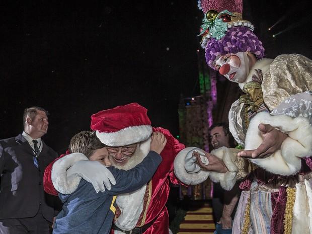 Ações ocorrem em meio às atrações do Sonho de Natal nos dias 16 e 19 de dezembro (Foto: Sergio Azevedo/Divulgação)