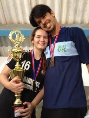 Letícia, atleta do SEB (Foto: Arquivo Pessoal)