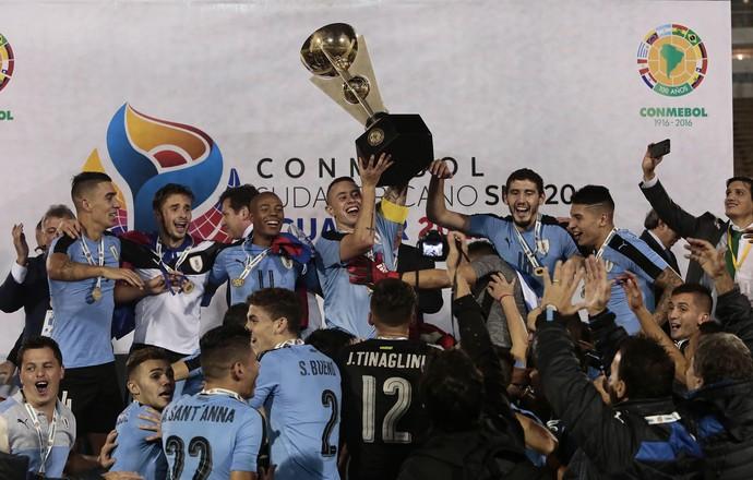 Equador x Uruguai Sul-Americano Sub-20 (Foto: EFE)
