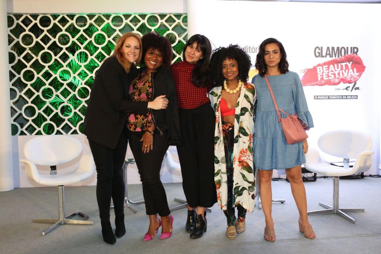 Renata Kalil, Márcia Silveira, Lays Tavares, Luiza Brasil e Alline Cury (Foto: Reginaldo Teixeira)