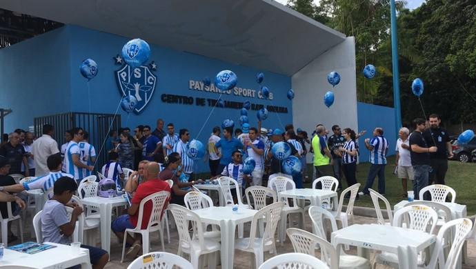 Portico Paysandu (Foto: Fernando Torres/Paysandu)