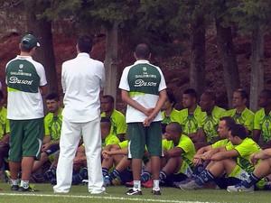 Caldense apresenta parte do elenco para a disputa do Mineiro 2015 (Foto: Reprodução EPTV)