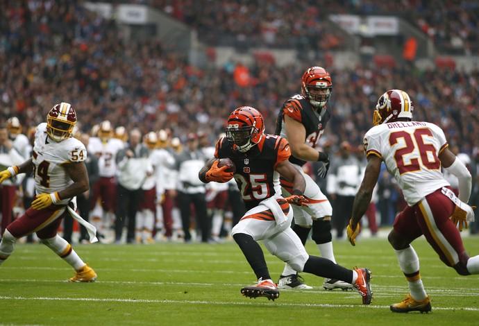 Bengals x Redskins - NFL Londres Wembley (Foto: Getty Images)