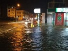 Três regiões de SC registram alagamentos após fortes chuvas