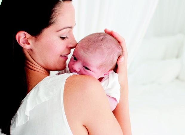 recém-nascido; pós-parto; mãe; bebê (Foto: Getty Images)