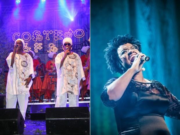 Cortejo Afro convida Ellen Oléria para o ensaio desta segunda (Foto: Arte G1)