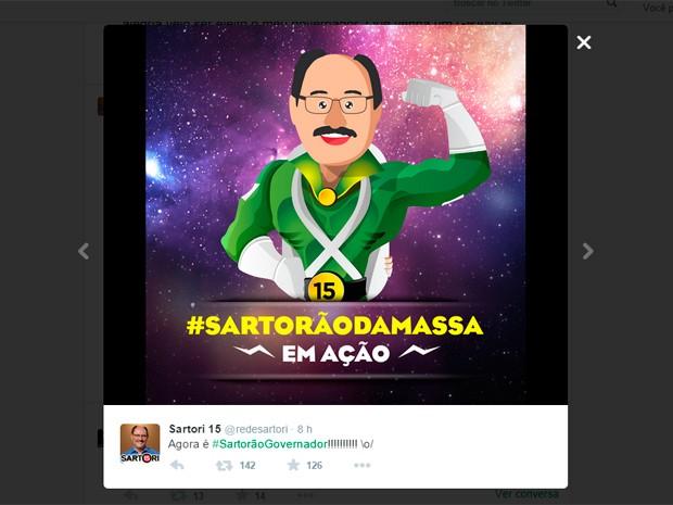 Web twitter internet Sartori (Foto: Reprodução/Twitter)